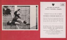 West Germany v Yugoslavia 1952 Turek Fortuna Dusseldorf D32